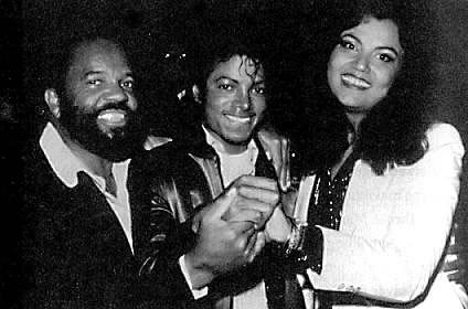 Berry Gordy, Michael Jackson and Suzanne de Passe