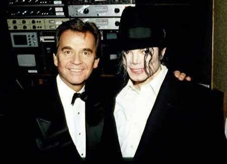 Dick Clark and Michael Jackson