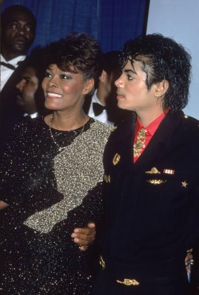 Dionne Warwick & Michael Jackson