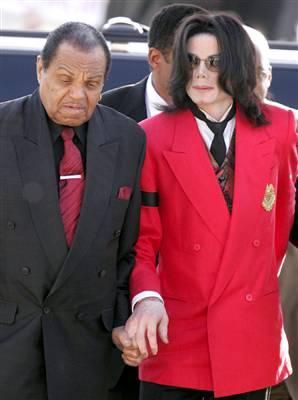 Joseph Jackson and Michael Jackson
