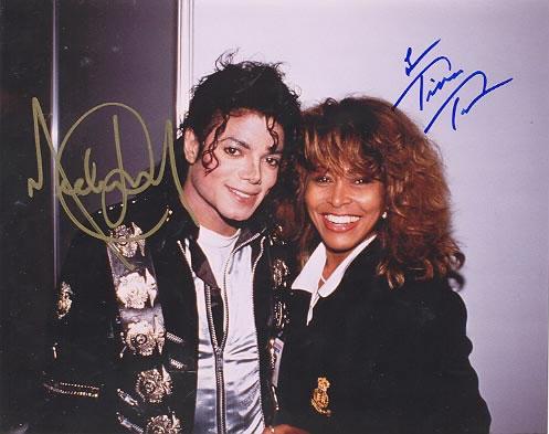 Michael Jackson & Tina Turner