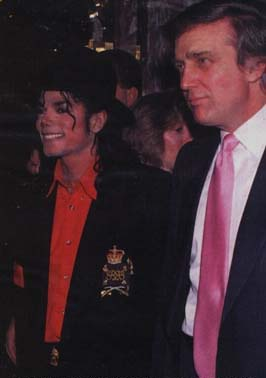 Michael Jackson & Donald Trump