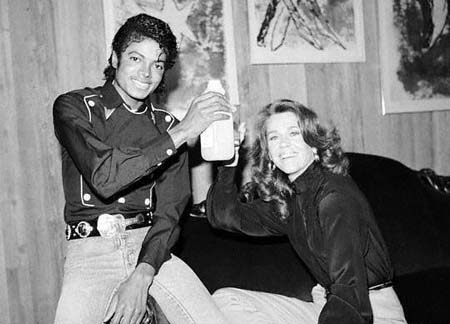 Michael Jackson & Jane Fonda