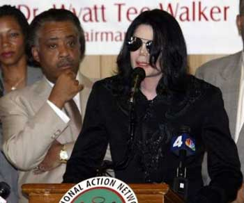 Rev Al Sharpton & Michael Jackson