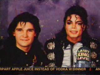 Michael Jackson & Corey Feldman