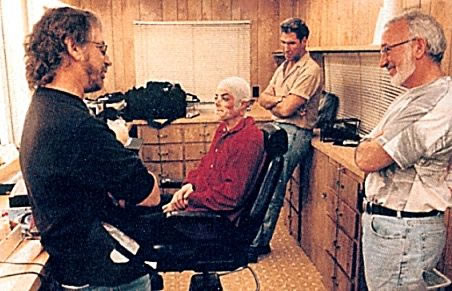 Michael Jackson, Steven Spielberg and Stan Winston