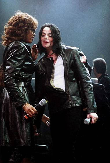 Whitney Houston & Michael Jackson