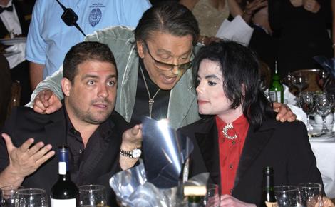 Brett Ratner with Michael Jackson