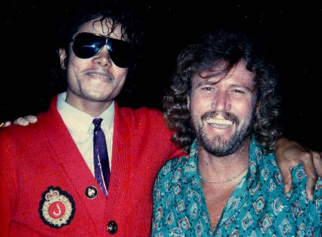 Duet With Barry Gibb Soon to be Released | Fan Blog for MJ