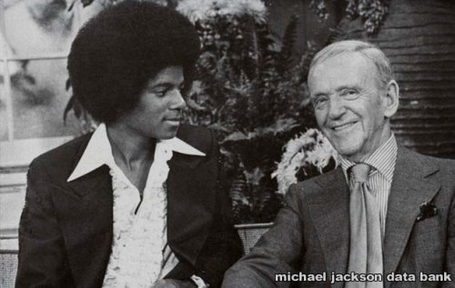 Michael Jackson & Fred Astaire 1979