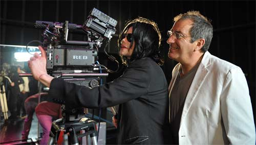 Michael Jackson and Kenny Ortega